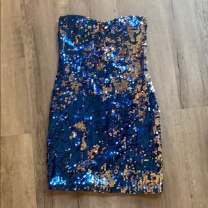 Sequin dress. Wore once.